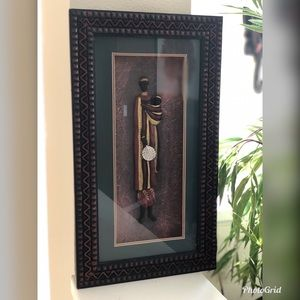 Framed African Art